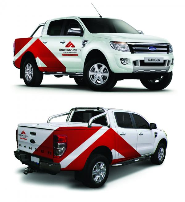 CSI Roofingsmiths Ford Ranger Visuals